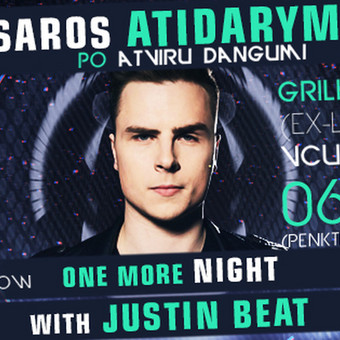One More Night With Justin Beat Cover - Vasaros sezono atidarymas