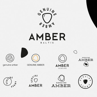 GENUINE AMBER logotipas