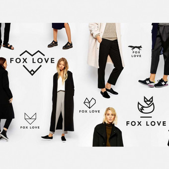 FOX LOVE (clothes) logotipas