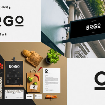 SOGO Lounge Bar logotipas