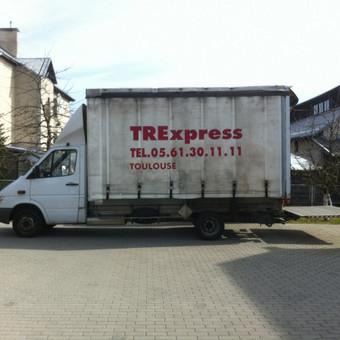 Krovinių pervežimas / Dainius / Darbų pavyzdys ID 60137