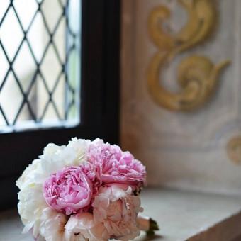 2015 m. A&V vestuvių šventė. Rožinis dekoras. Vestuvių planuotoja - Lijana  Kizelaitė Tulauskienė; Fotografija - JurArt's.