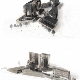 Verslo centro Konstitucijos projekte projektinis pasiūlymas