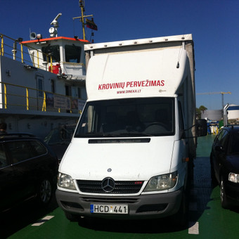 Krovinių pervežimas / Dainius / Darbų pavyzdys ID 60905