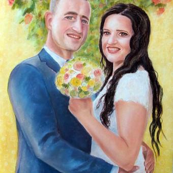 Spalvingi portretai ir sienų tapyba / Pepe Colors / Darbų pavyzdys ID 384235