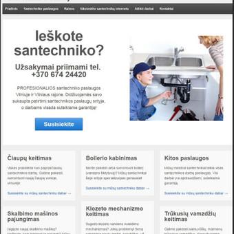 Santechniko iškvietimas / Simas / Darbų pavyzdys ID 385395