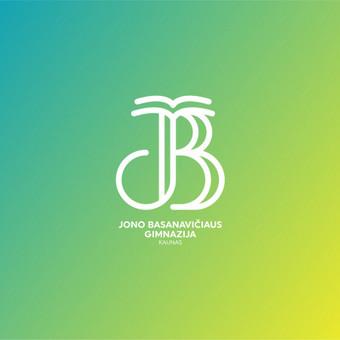 Kauno Jono Basanavičiaus gimnazija   Atnaujintas mokyklos / gimnazijos logotipas       Logotipų kūrimas - www.glogo.eu - logo creation.