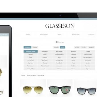 Elektroninė parduotuvė (WWW.GLASSESON.LT)