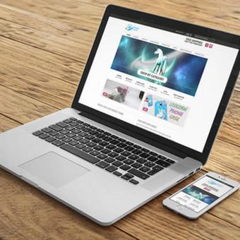 Internetinės svetainės ir elektroninės parduotuvės / Eimantas Dičius / Darbų pavyzdys ID 387403