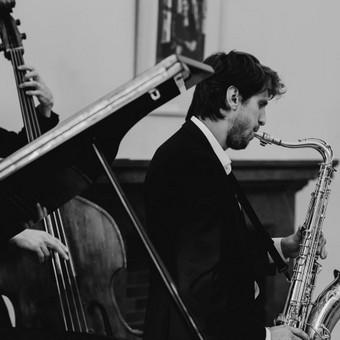 Saksofonistas/Profesionalių muzikantų grupė / Profesionalūs muzikantai / Darbų pavyzdys ID 387763