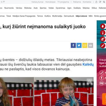 Profesionali žurnalistė / Ema Bilytė / Darbų pavyzdys ID 387895