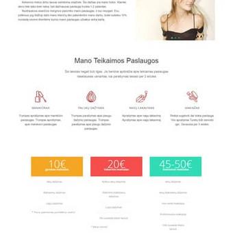 Internetinių svetainių | El-parduotuvių kūrimas Jūsų mieste / Jonas Urbonas / Darbų pavyzdys ID 388831