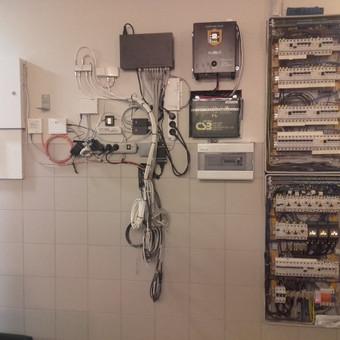 Rozečių, jungiklių montavimas