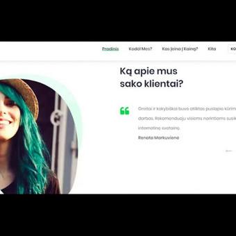 #1 Interneto svetainių, bei parduotuvių kūrimas,  SEO / Jonas Urbonas / Darbų pavyzdys ID 389667