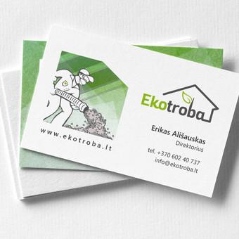 Grafikos dizainerė - logotipų kūrimas, skrajutės, vizitinės / Agnietė Suknelevičienė / Darbų pavyzdys ID 390033