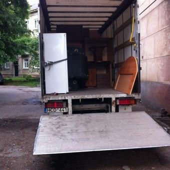 Krovinių pervežimas / Dainius / Darbų pavyzdys ID 61594
