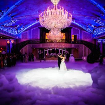 Žemas rūkas vestuvėms | Įspūdingas Jaunųjų pirmasis šokis / ZemasRukas.Lt / Darbų pavyzdys ID 391327