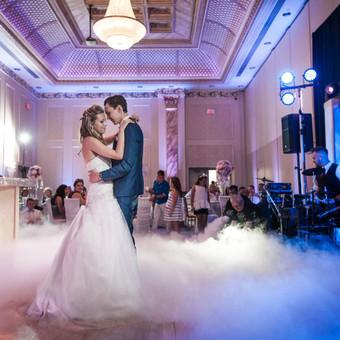 Žemas rūkas vestuvėms | Įspūdingas Jaunųjų pirmasis šokis / ZemasRukas.Lt / Darbų pavyzdys ID 391329