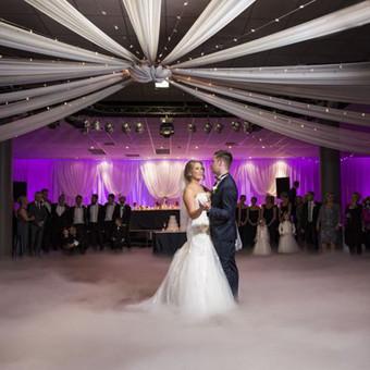 Žemas rūkas vestuvėms | Įspūdingas Jaunųjų pirmasis šokis / ZemasRukas.Lt / Darbų pavyzdys ID 391335