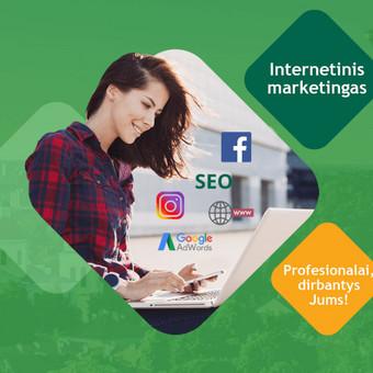 Facebook ir AdWords reklamos paslaugos / GoinSales / Darbų pavyzdys ID 391695