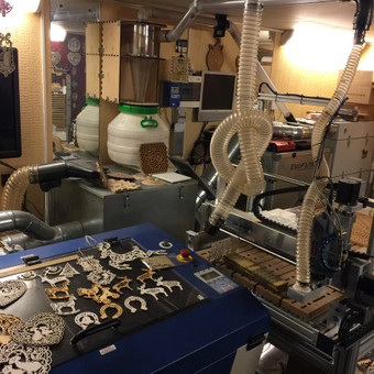 3D spausdinimas, frezavimas, graviravimas, pjovimas lazeriu / Marijus Petraitis / Darbų pavyzdys ID 392313