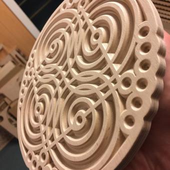 3D spausdinimas, frezavimas, graviravimas, pjovimas lazeriu / Marijus Petraitis / Darbų pavyzdys ID 392291