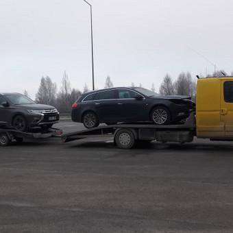 Traliuku vežame nuo 1 iki 3 Auto. Technine pagalba kelyje. / MB Dolausa / Darbų pavyzdys ID 392473