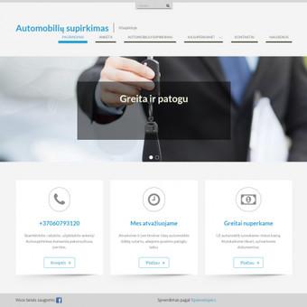 Automobilių supirkimo svetainė