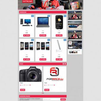 Internetinė parduotuvė forrace.eu