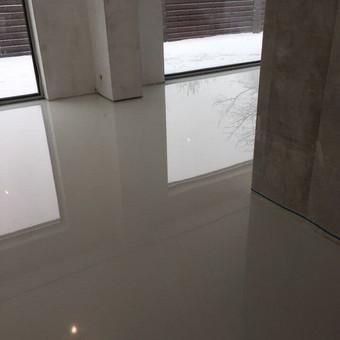"""Pramoninės ir dekoratyvinės liejamos grindys / UAB """"PavaBaltic"""" / Darbų pavyzdys ID 392867"""