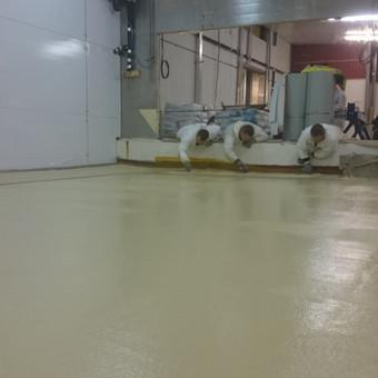 """Pramoninės ir dekoratyvinės liejamos grindys / UAB """"PavaBaltic"""" / Darbų pavyzdys ID 392887"""
