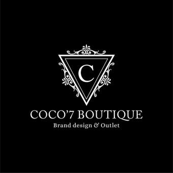 Logotipas kurtas - Coco'7 Boutique