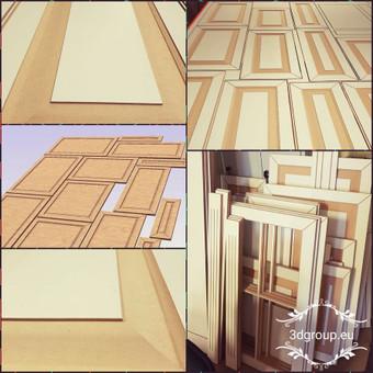 2D, 3D ir 4D frezavimas, 3D skenavimas / 3D Group EU, 3D Wood / Darbų pavyzdys ID 393099