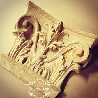 2D, 3D ir 4D frezavimas, 3D skenavimas / 3D Group EU, 3D Wood PRO / Darbų pavyzdys ID 393101