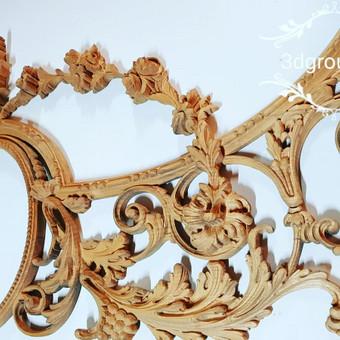 2D, 3D ir 4D frezavimas, 3D skenavimas / 3D Group EU, 3D Wood / Darbų pavyzdys ID 393105
