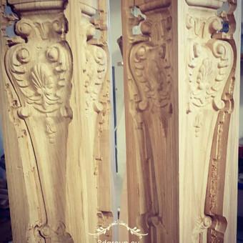 2D, 3D ir 4D frezavimas, 3D skenavimas / 3D Group EU, 3D Wood / Darbų pavyzdys ID 393107