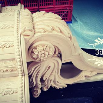 2D, 3D ir 4D frezavimas, 3D skenavimas / 3D Group EU, 3D Wood / Darbų pavyzdys ID 393109