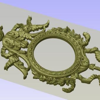 2D, 3D ir 4D frezavimas, 3D skenavimas / 3D Group EU, 3D Wood / Darbų pavyzdys ID 393113