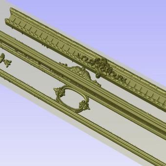 2D, 3D ir 4D frezavimas, 3D skenavimas / 3D Group EU, 3D Wood / Darbų pavyzdys ID 393115