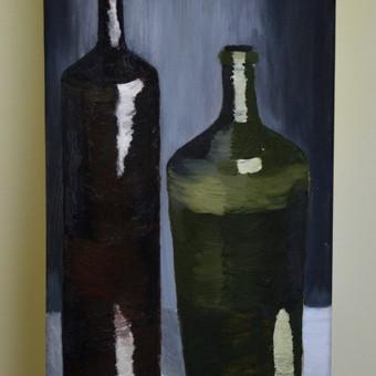25x50 aliejinė tapyba, drobė 15 Eur