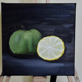 25x25 aliejinė tapyba 10Eur