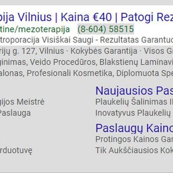 Google AdWords Reklama (Google Ads) / Arminas Ubartas / Darbų pavyzdys ID 393807