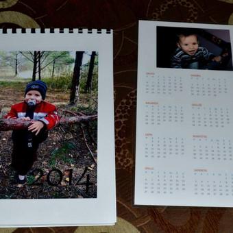 Kalendoriai su Jūsų fotografijomis