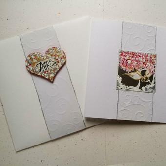 Vestuvių, krikštynų atvirukai, stalo kortelės, kvietimai / Rasa Lazdauskaitė / Darbų pavyzdys ID 394463