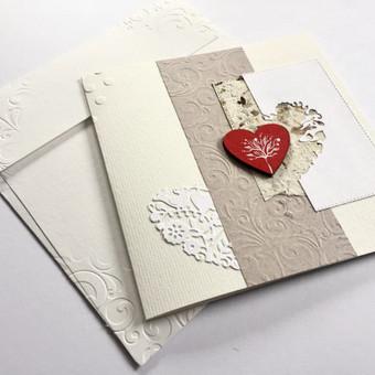 Vestuvių, krikštynų atvirukai, stalo kortelės, kvietimai / Rasa Lazdauskaitė / Darbų pavyzdys ID 394491