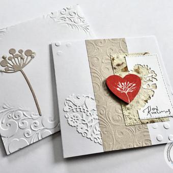 Vestuvių, krikštynų atvirukai, stalo kortelės, kvietimai / Rasa Lazdauskaitė / Darbų pavyzdys ID 394507
