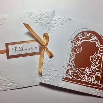 Vestuvių, krikštynų atvirukai, stalo kortelės, kvietimai / Rasa Lazdauskaitė / Darbų pavyzdys ID 394515