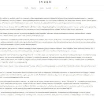 Komunikacijos specialistė, tekstų kūrėja / Sonata Dirsytė / Darbų pavyzdys ID 396273