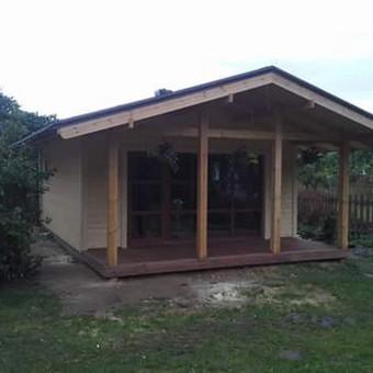 Dengiam stogus.montojam vent. fasadus / Stogai / Darbų pavyzdys ID 396613