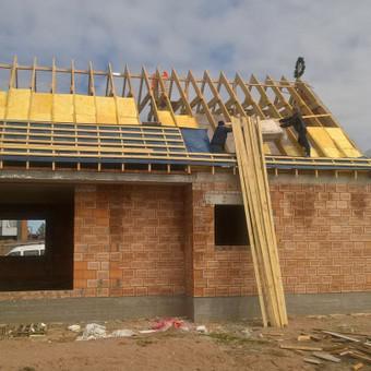 stogo įrengimas, šiltinimas